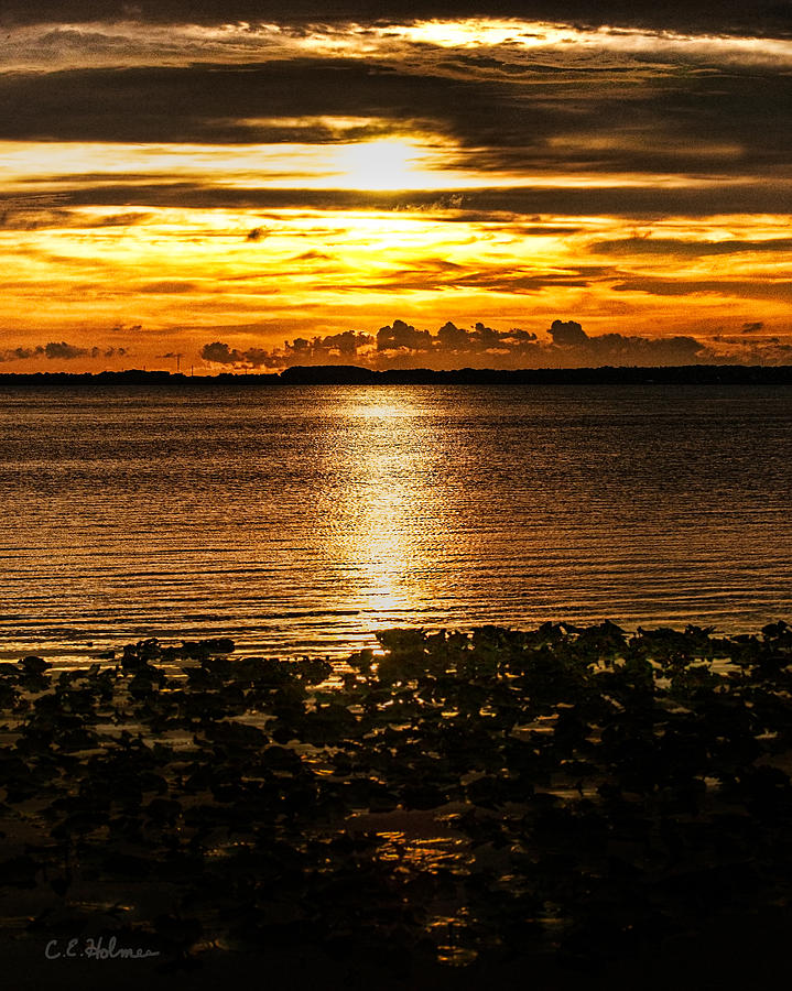 Sunset Photograph - Illuminated by Christopher Holmes