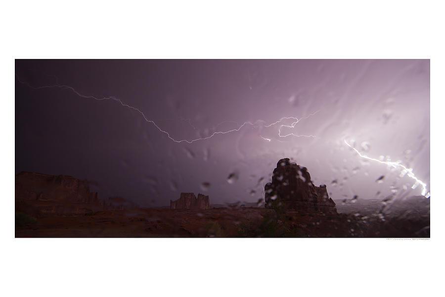 Lightning Photograph - Illuminating Wetness by Andreas Hohl