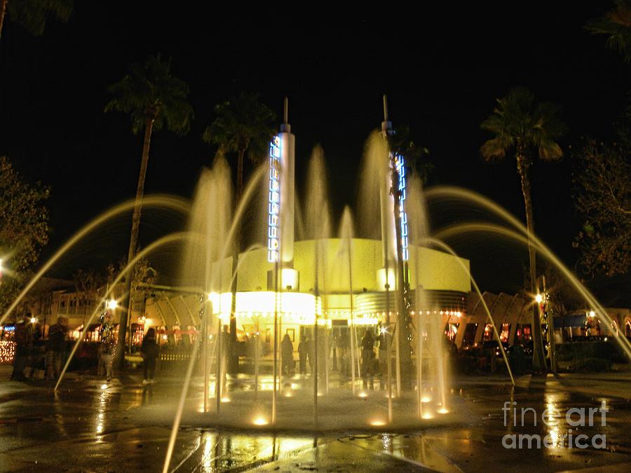 Fountains Photograph - Illumination Of Water by Becky Wanamaker