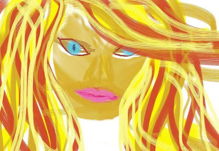 Beauty Digital Art - Illusion Of Beauty by Angie Baker