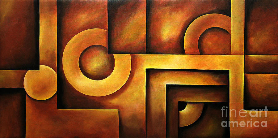 illusion of depth 2 painting by uma devi