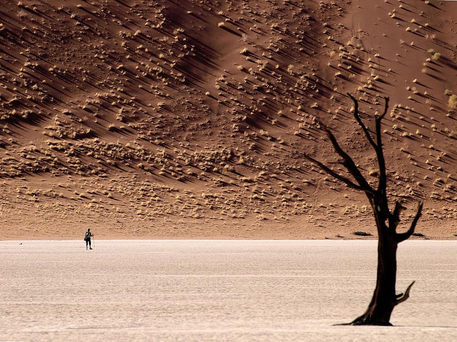 Namibia Photograph - Im Walking by Nina Papiorek