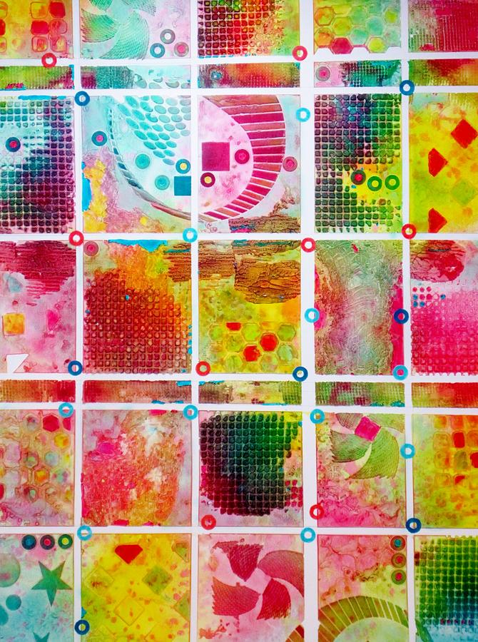 Quilts Painting - Images Of The State Fair by David Raderstorf