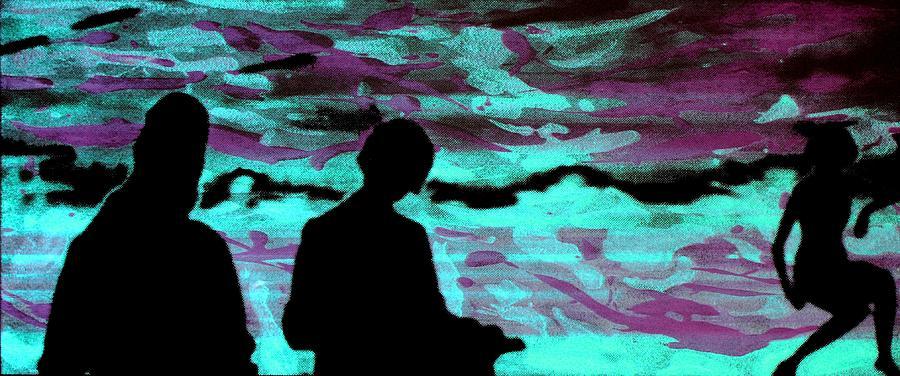 Serigraph Photograph - Imaginary Landscape - Fluorescence Serigraphy by Arte Venezia