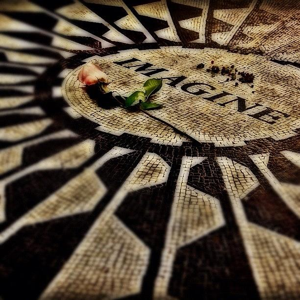 Memorial Photograph - Imagine by Joel Lopez