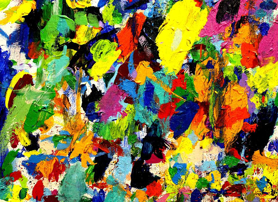 Abstract Painting - Imma   60 by John  Nolan