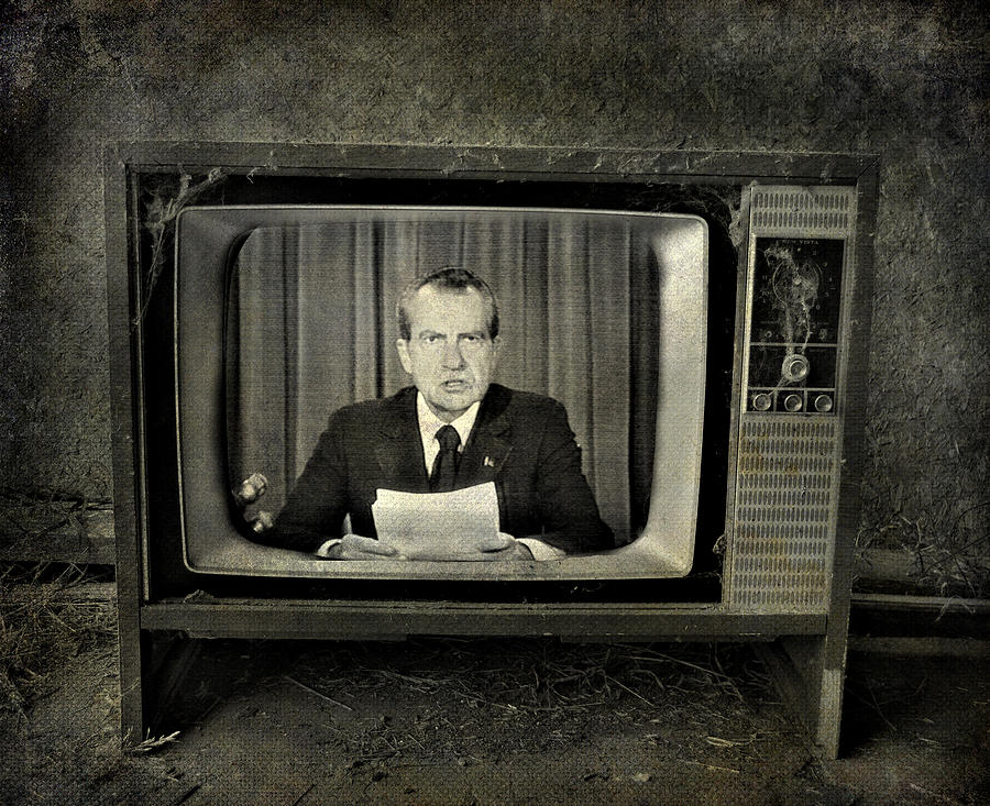 Jerry Cordeiro Photograph - Impeached Network  by Empty Wall