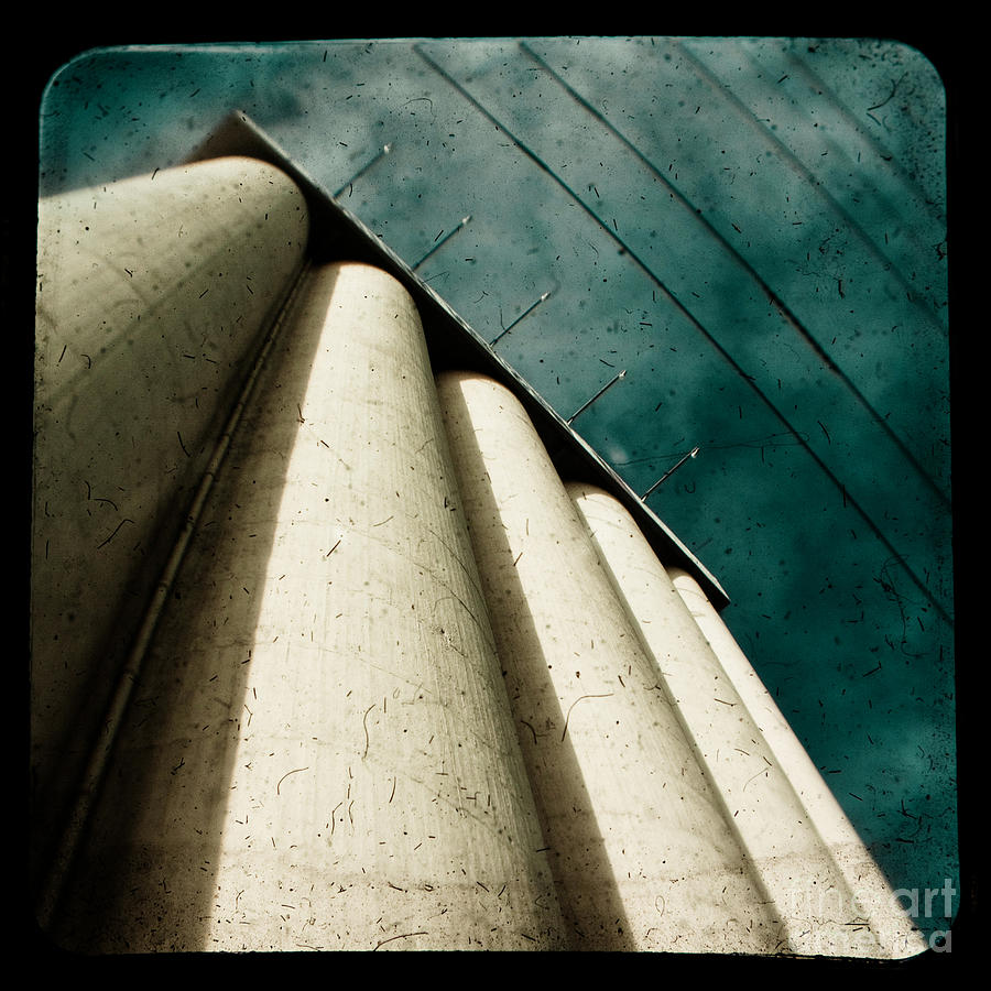 Industrial Photograph - Impending Doom by Andrew Paranavitana