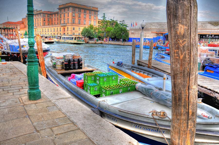 Helsinki Finland Digital Art - Imports by Barry R Jones Jr