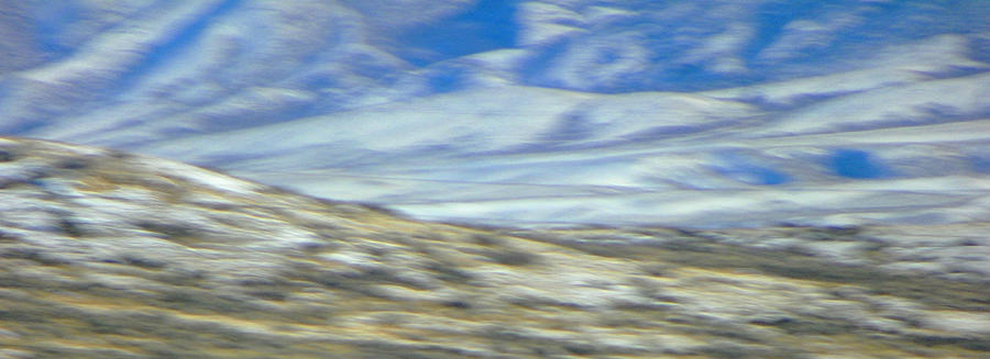 Abstract Photograph - Impression Of Wyoming by Lenore Senior