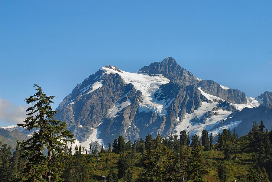 Mountain Photograph - In All Her Majesty by Michael Merry