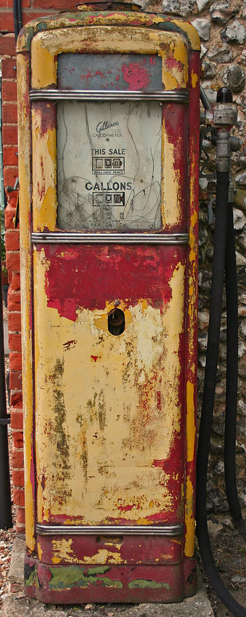 Pump Photograph - In An Age Gone Bye.. by Camera Rustica Bill Kerr