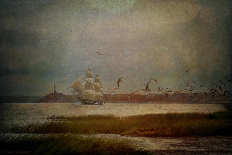 Emerald_sea Digital Art - In Another Lifetime by Lianne Schneider