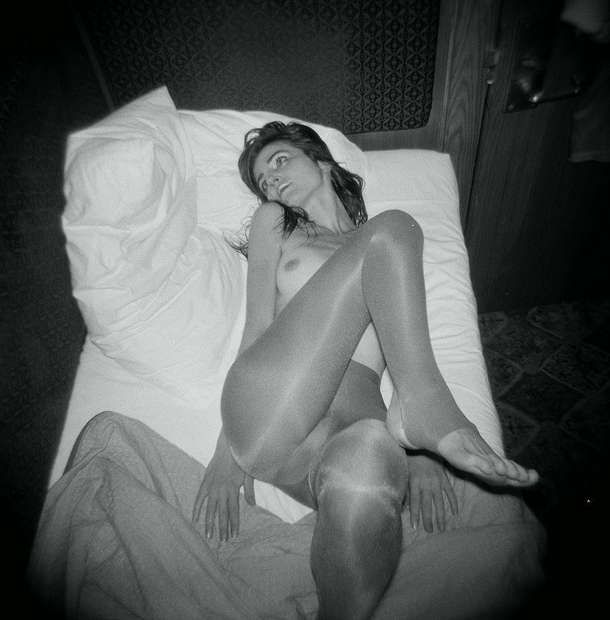 Black And White Photography Photograph   In Bed By J C