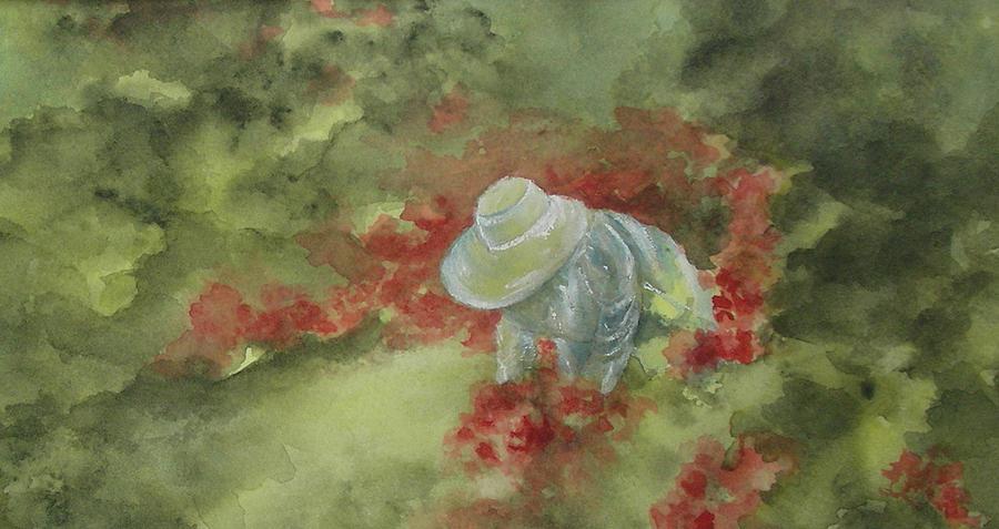 In Her Garden by Paula Robertson