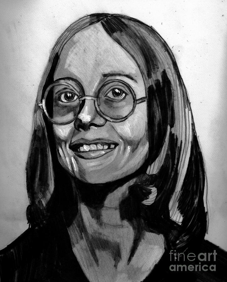 Drawing - In Memory Of Vickie by Timothy Fleming