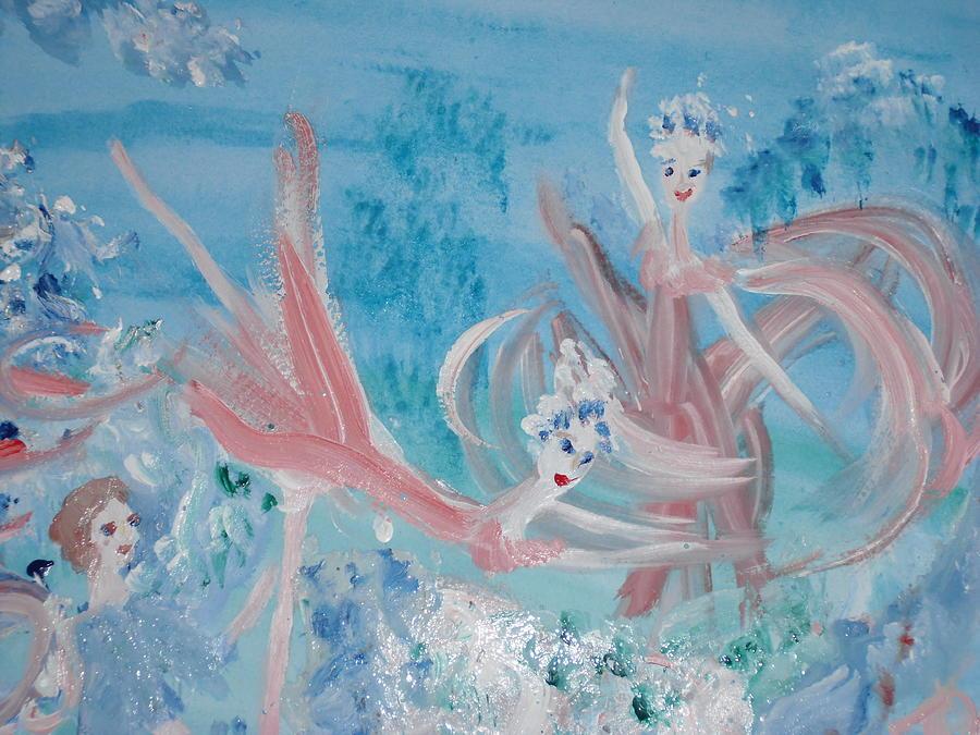 Dance Painting - In My Dreams Im Dancing by Judith Desrosiers