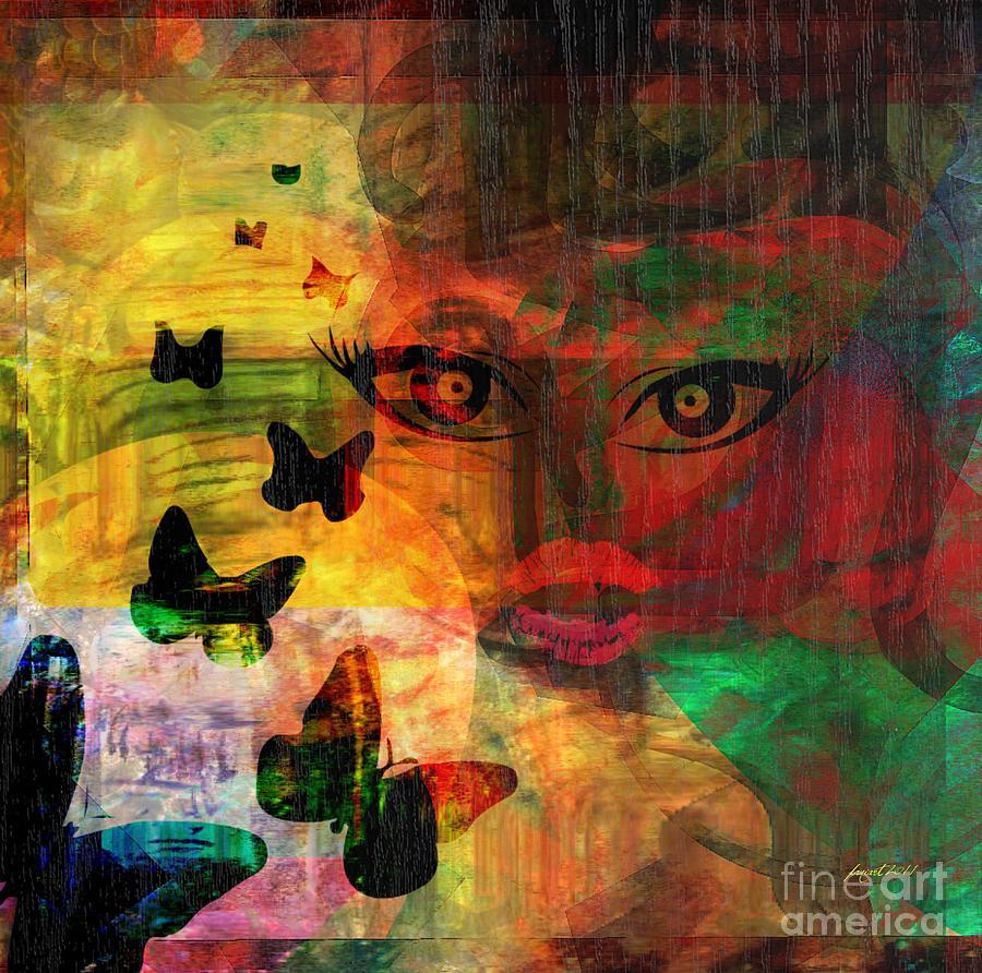 Yesayah Digital Art - In Paradis by Fania Simon
