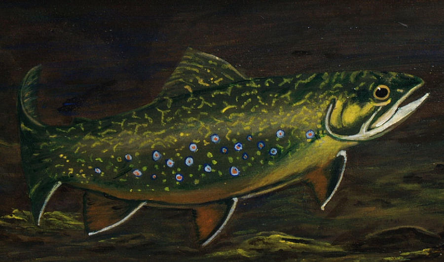 Nature Painting - In The Deep by Kathy Lovelace