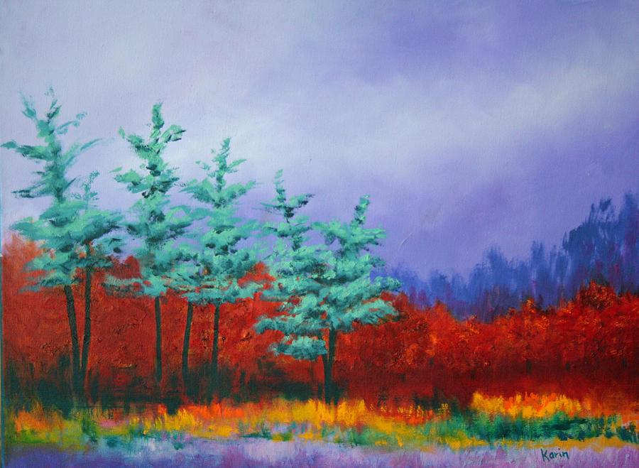 Landscape Painting - In The Dunes II by Karin Eisermann