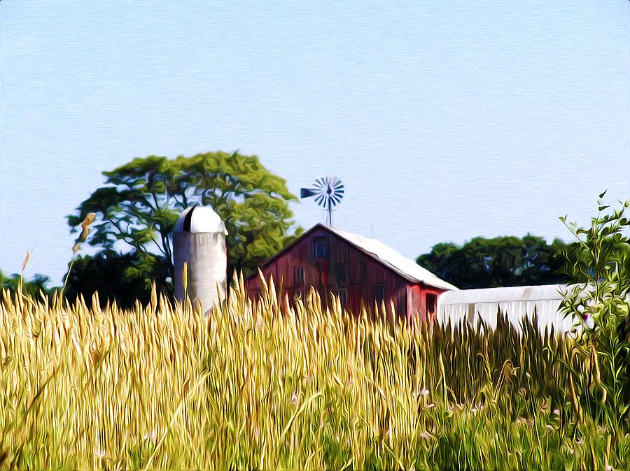 Farm Photograph - In The Farmers Field by Bill Cannon