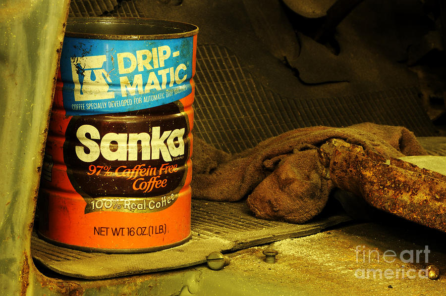 Coffee Photograph - In The Garage... by Nancy Greenland