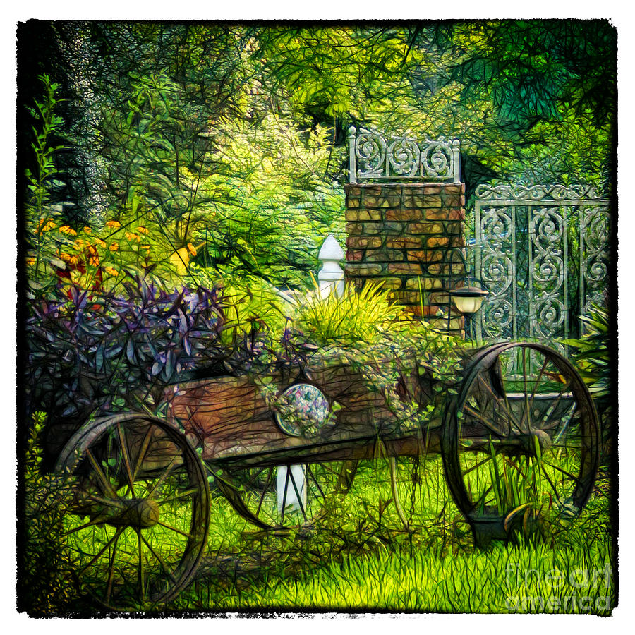 Garden Photograph - In The Garden by Judi Bagwell