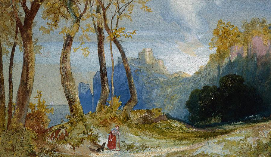 Thomas Moran Painting - In The Hills by Thomas Moran