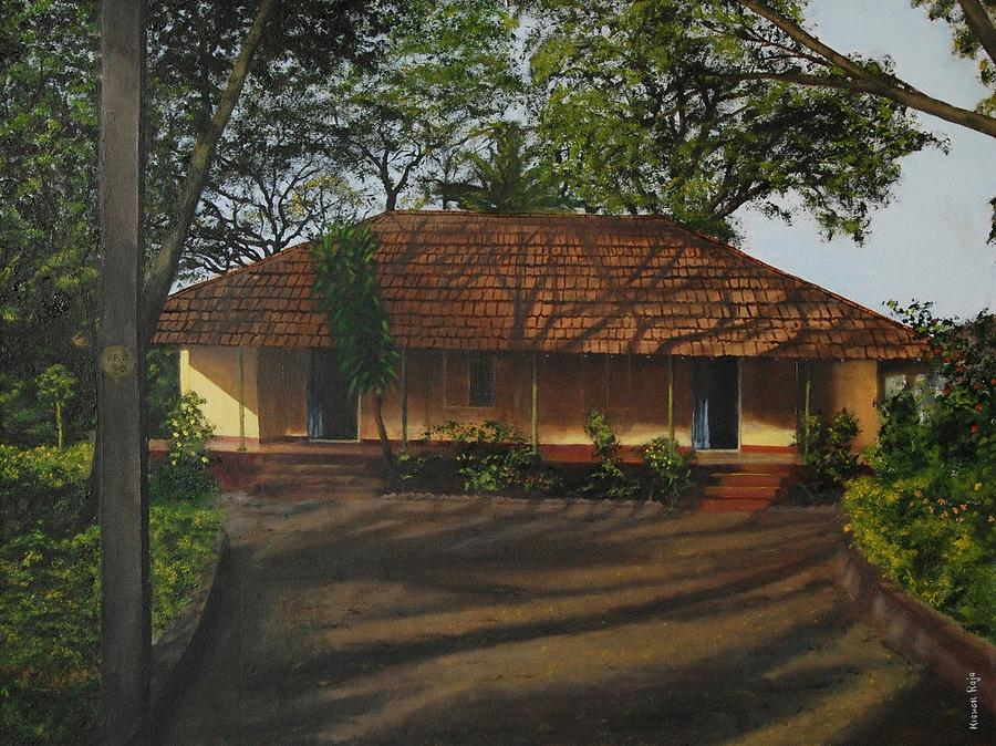 Payyannur. Painting - In The Midst Of Shadow by Kishor Raja