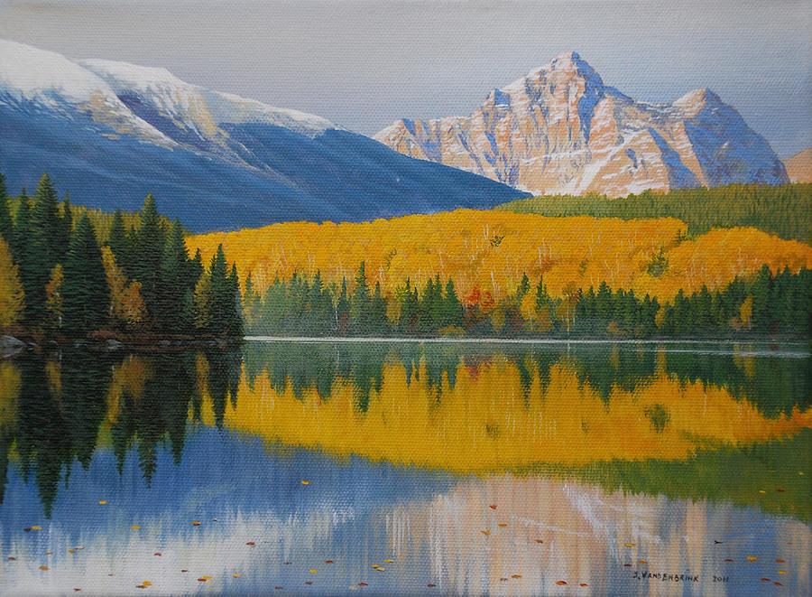 Ontario Painting - In The Stillness by Jake Vandenbrink
