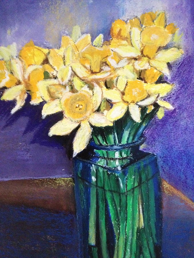 Still Life Painting - In The Vase by Giti Ala