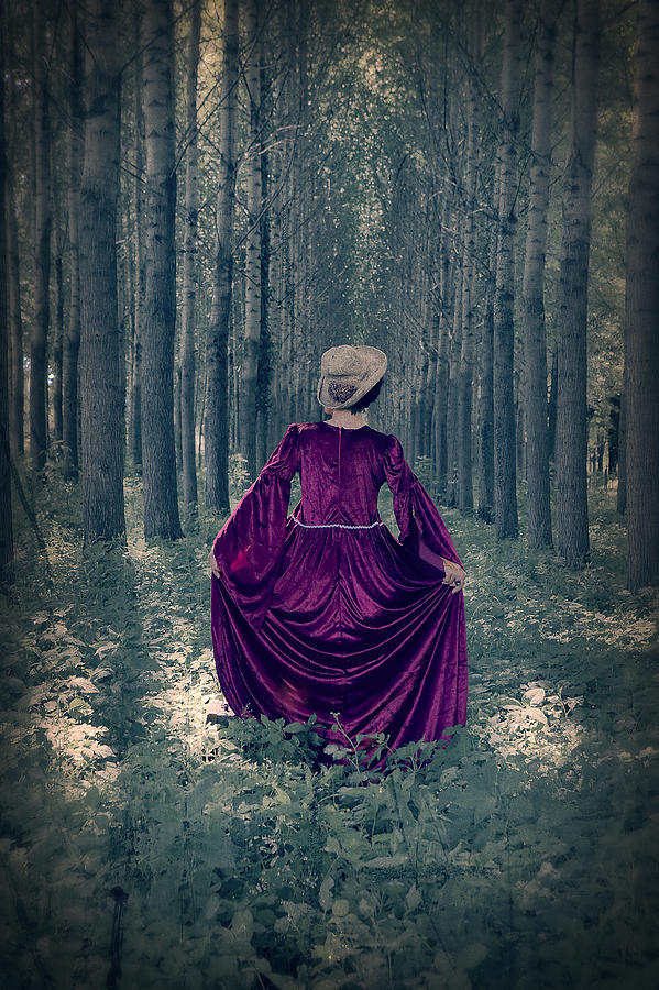 Female Photograph - In The Woods by Joana Kruse
