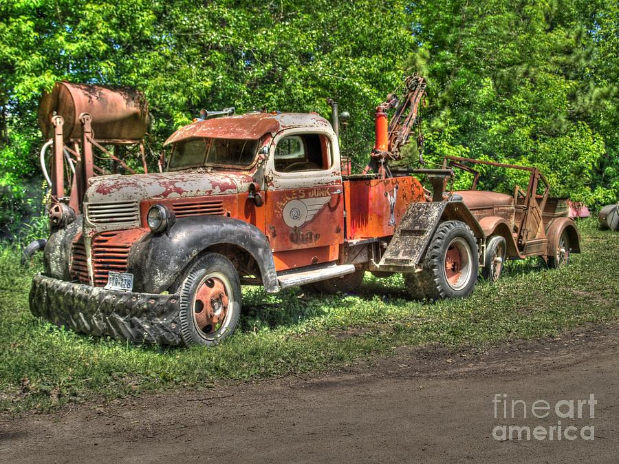 Tow Photograph - In Tow by Jimmy Ostgard