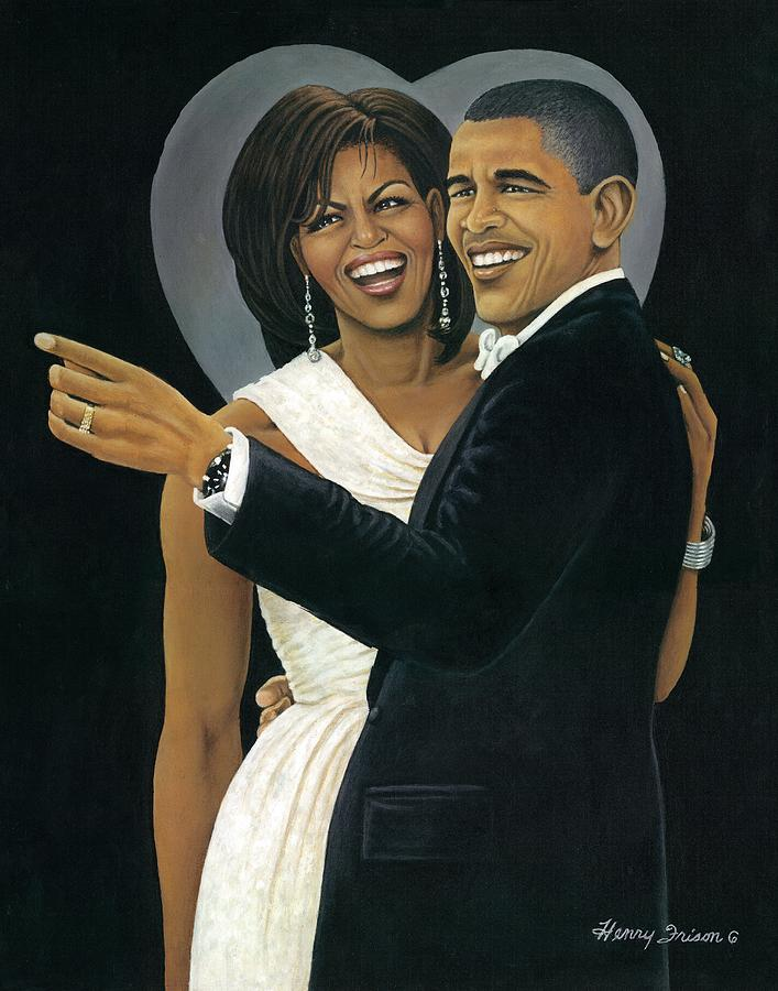 Presidents Painting - Inaugural Ball by Henry Frison