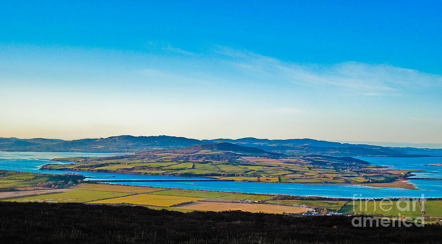 Ireland Photograph - Inch Island County Donegal Ireland by Black Sun Forge