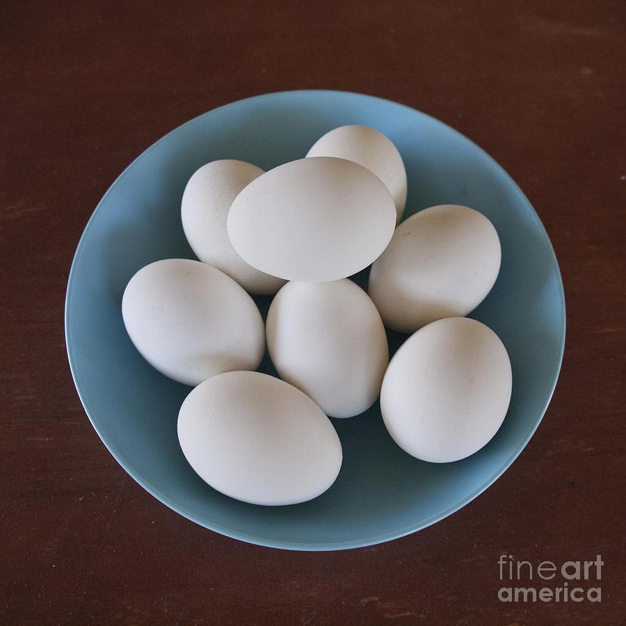 Incipient Egg Salad Photograph