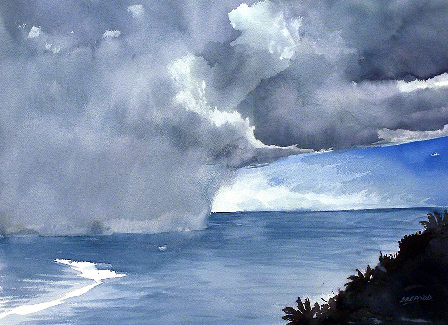 Incoming Squall Painting by Jon Shepodd