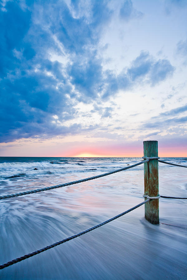 Tide Photograph - Incoming Tide by Adam Pender