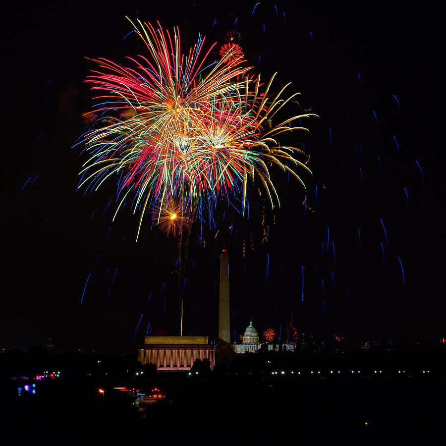 4th Of July Photograph - Independence Day In Dc 2 by David Hahn