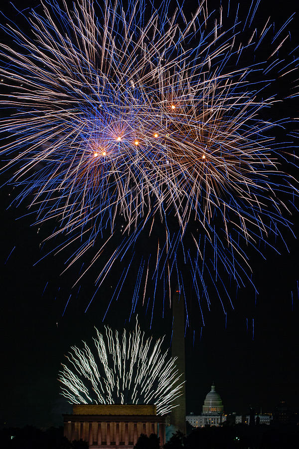 4th Of July Photograph - Independence Day In Dc 5 by David Hahn
