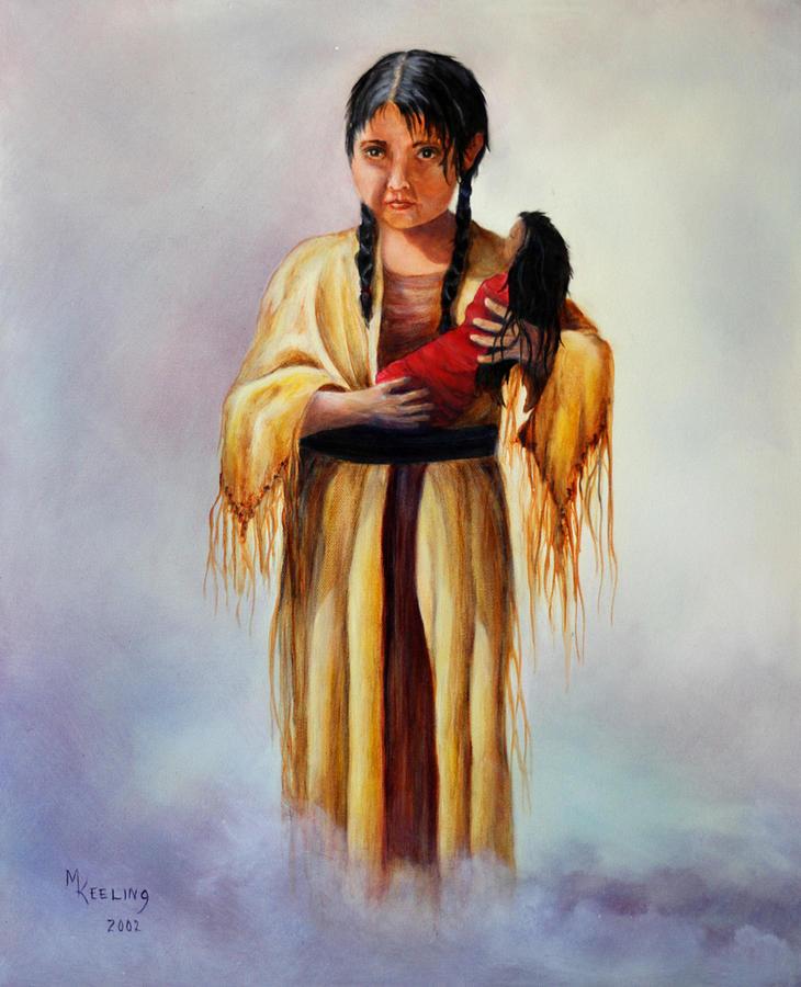 Indian Doll by Meg Keeling