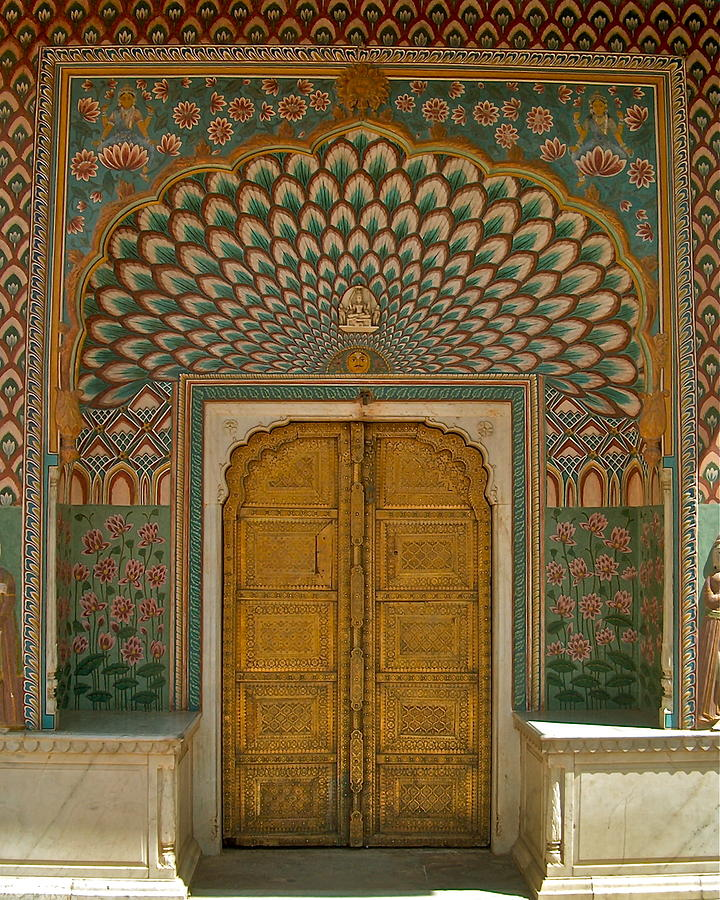 Indian Door Photograph By Dorota Nowak