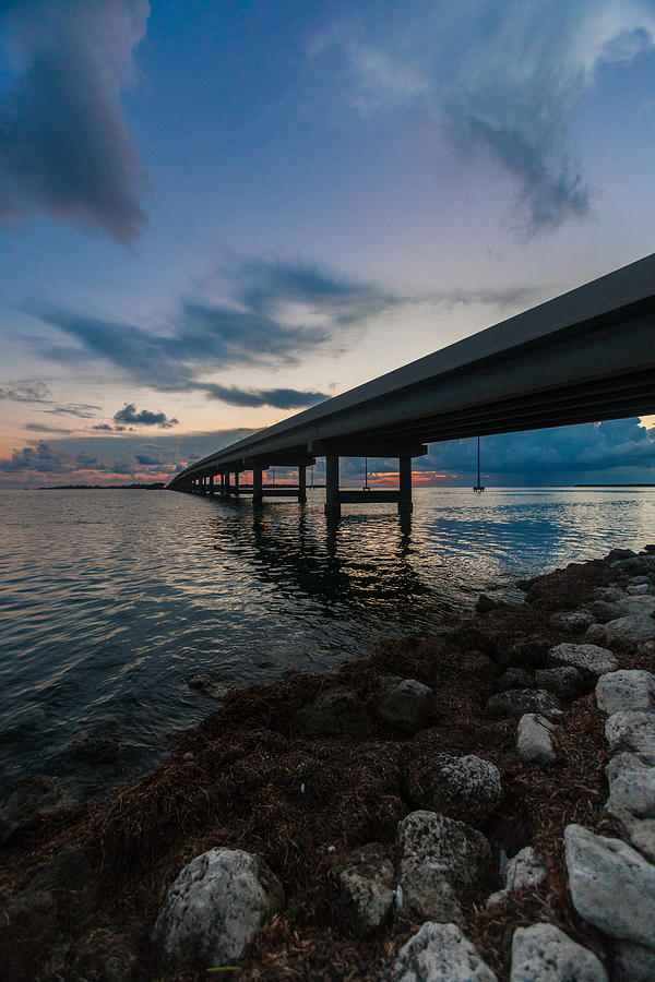 Key West Photograph - Indian Key Channel by Dan Vidal