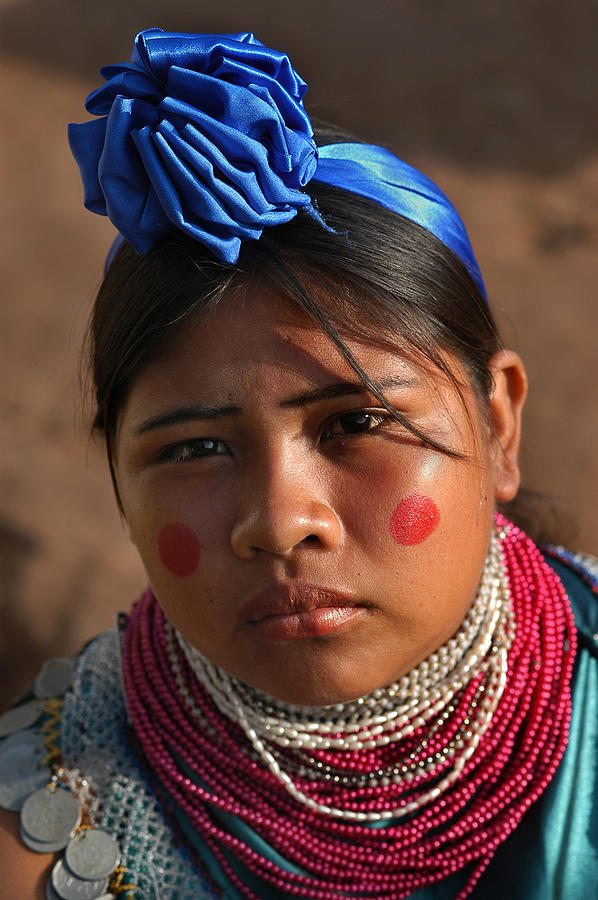 Indigenous Guarani Women. Photograph - Indigenous Guarani Women. Department Of Santa Cruz. Republic Of Bolivia.    by Eric Bauer