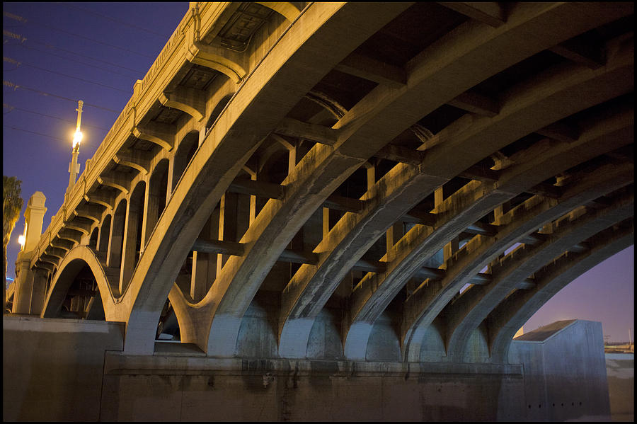 River Photograph - Industrial Ribs  by Kevin  Break