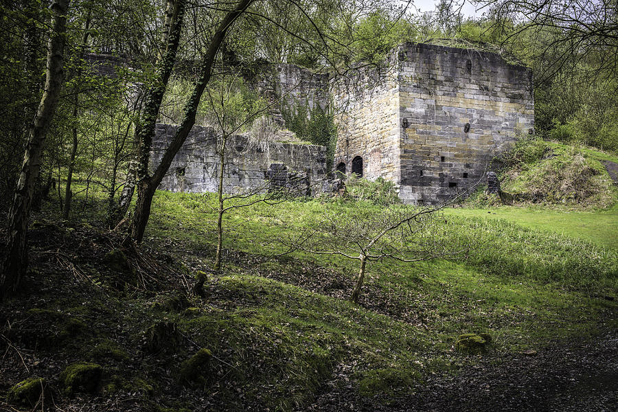 Shropshire Photograph - Industrial Ruin by Amanda Elwell