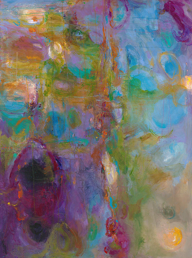 Abstract Expressionistic Painting - Infinite Tranquility by Johnathan Harris