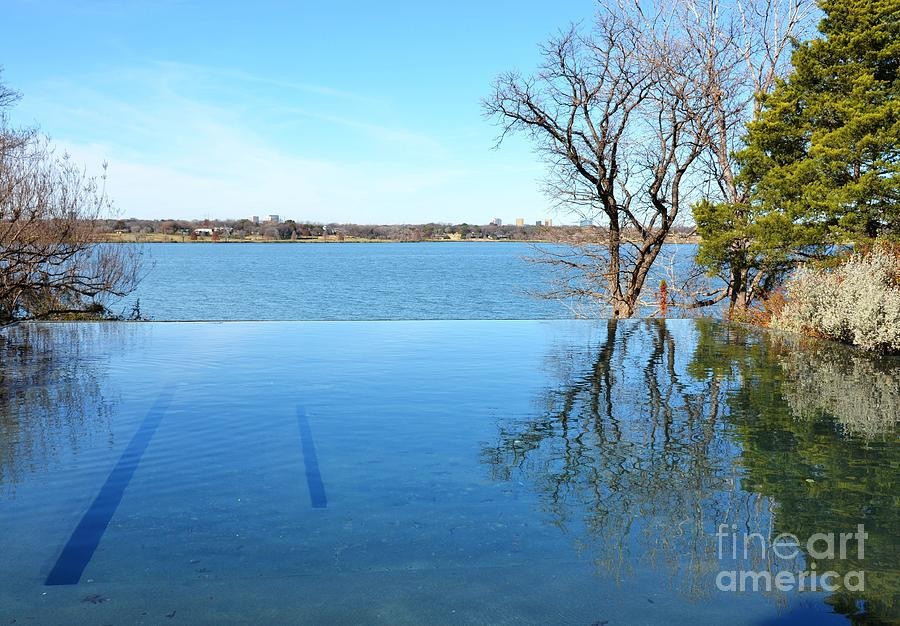 Water Photograph - Infinity by Debbi Granruth