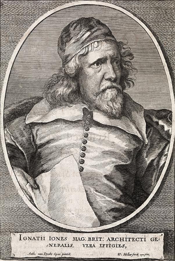 Human Photograph - Inigo Jones, British Architect by Middle Temple Library
