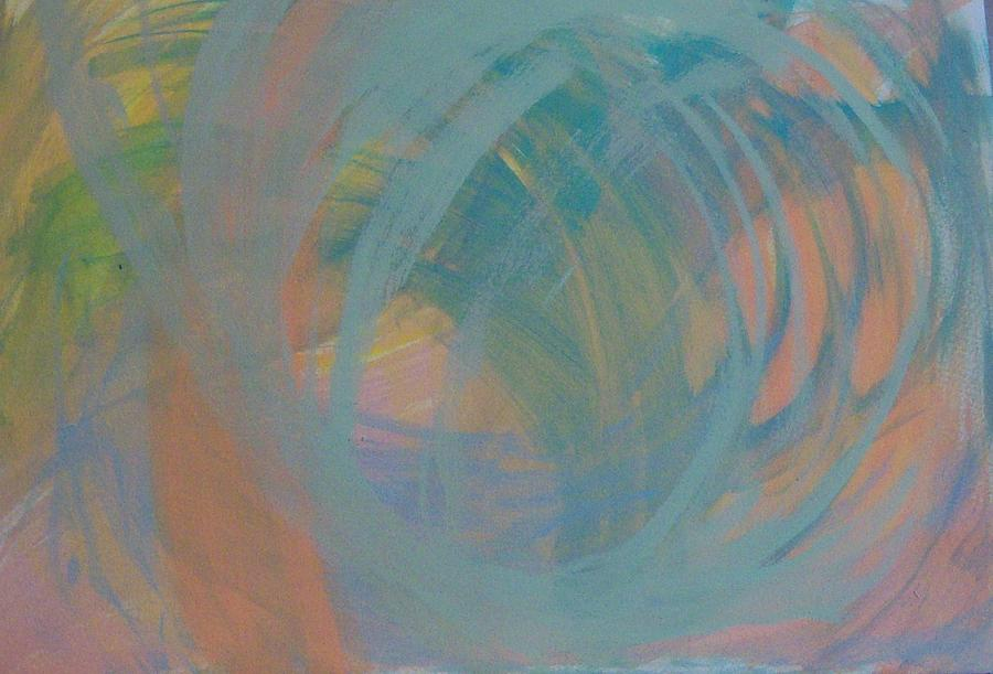 Abstract Painting - Inner Glow by Helene Henderson